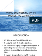 Fabric Engineering on Uv Protective Garments
