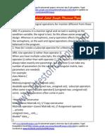 Delphi Sample Technical Placement Paper
