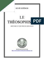 47011596 LeTheosophisme Histoired Unepseudo Religion ReneGuenon Edition1921 2