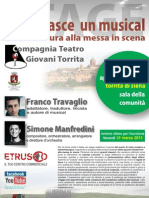 Stage ComeNasceMusical Volantino