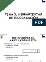 TEMA 3. HERRAMIENTAS DE PROGRAMACIÓN