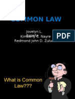 Group 16- Common Law