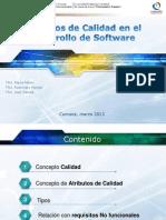 Atributos de calidad en el desarrollo de software - copia.ppt
