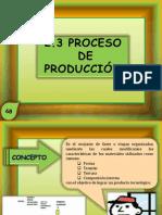 2.3 Proceso de Produccion