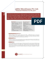 Credible Microfinance Private Limited