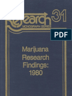 NIDA.rm.31.Marijuana Research Findings - 1980