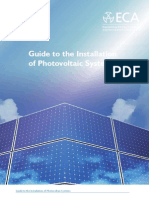 Guide to the Installation of Photovoltaic Systems
