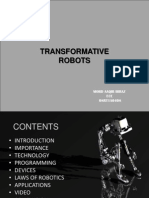 Transformative Robots