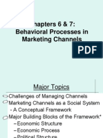marketing channels conflicts power