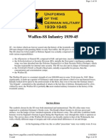 German 1939-1945 Uniforms Ss-Infantry