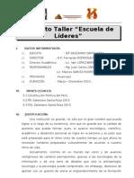 Proy Esc Lideres 2013