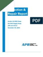 Pump Sample Report