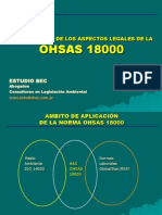 CUMPLIMIENTO  OHSAS 18000