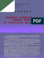 referat_valenteleformativealejoculuilogicinactivitatilematematice