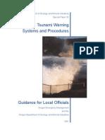 oregon tsunami warning systems and procedures