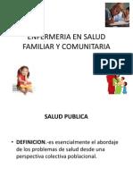 Enfermeria en Salud Familiar y Comunitaria