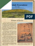 The Ezitah Excavations (Ron e. Tappy)