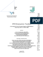 Assessing the Socio Economic Impact of Rtd Policies 2002