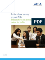 India Talent Survey Report 2012