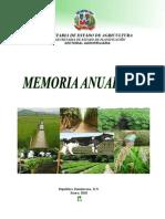 Memoria Anual Agropecuaria 2009