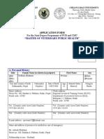 Main Application Form MVPH