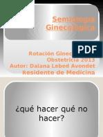 Semiología Ginecológica