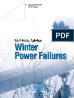 winter power failure from canada