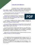 GEOGRAFÍA DE MÉXICO.doc
