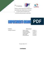 Trabajo Corportamiento Organizacional