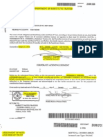 MCI PI Report Evidence Mortgage Fraud