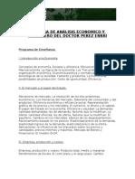 Programa Catedra Analisis Economico y Financiero Perez Enrri