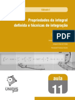 Calculo I - Integrais