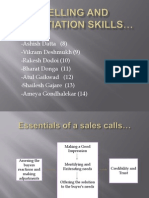 2.Selling and Negotiation Skills (Roll_nos 8-14)