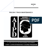 us army railway track maintenance ii ed