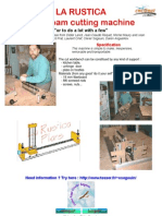 Foam Cutting Machine v6 Eng - CNC