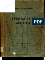 Fabricacion de Materiales