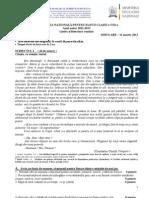 2013 Martie Subiect Lro Simulare Evaluare Nationala 11.03.2013