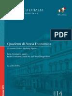 Quaderni Storia Economica 14