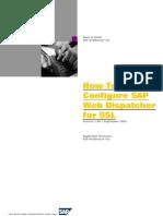How to Configure SAP Web Dispatcher for SSL20