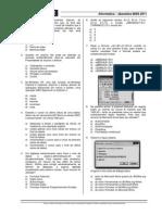 Simulado INSS 2011- 02 - NUCE - Impressão