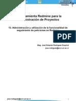13 Administracion y Utilizacion de La Funcionalidad de Seguimiento de Peticiones en Redmine