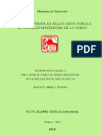 INFORME MONOGRAFICO ADRIAN SALDAÑA
