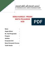 Cover Kerja Kursus New