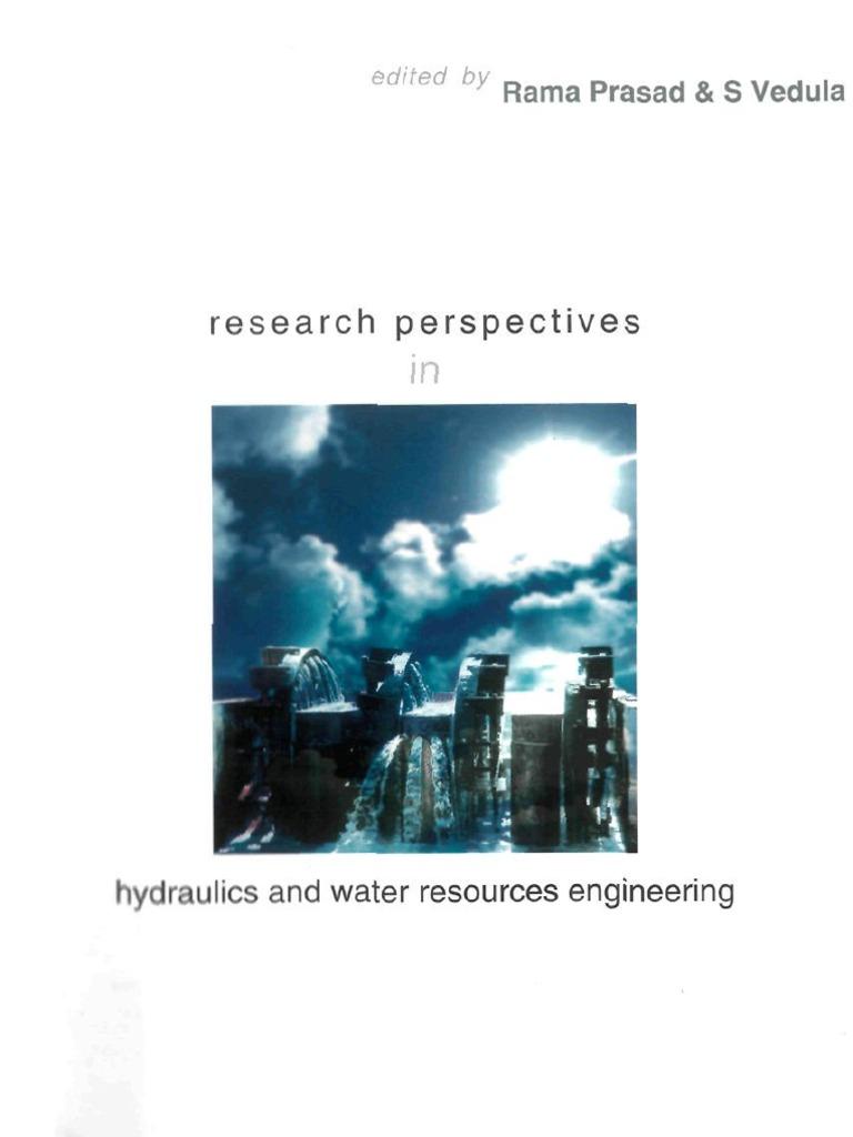 Hydraulics Water Engineering Turbulence