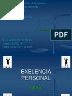Exelencia Personal