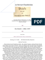 Chamberlain Houston Stewart - Briefe 1882-1924 Und Briefwechsel Mit Kaiser Wilhelm II. - Band 1 (1928, 121 S., Text)