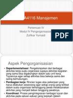 EKMA4116 Manajemen Pertemuan IVa