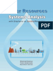 Water Resources Systems Analysis 1566706424