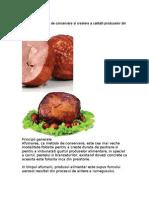 Afumarea, Metoda de Conservare Si Crestere a Calitatii Produselor Din Carne