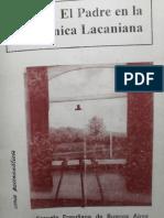 Efba, El Padre en La Clinica Lacaniana